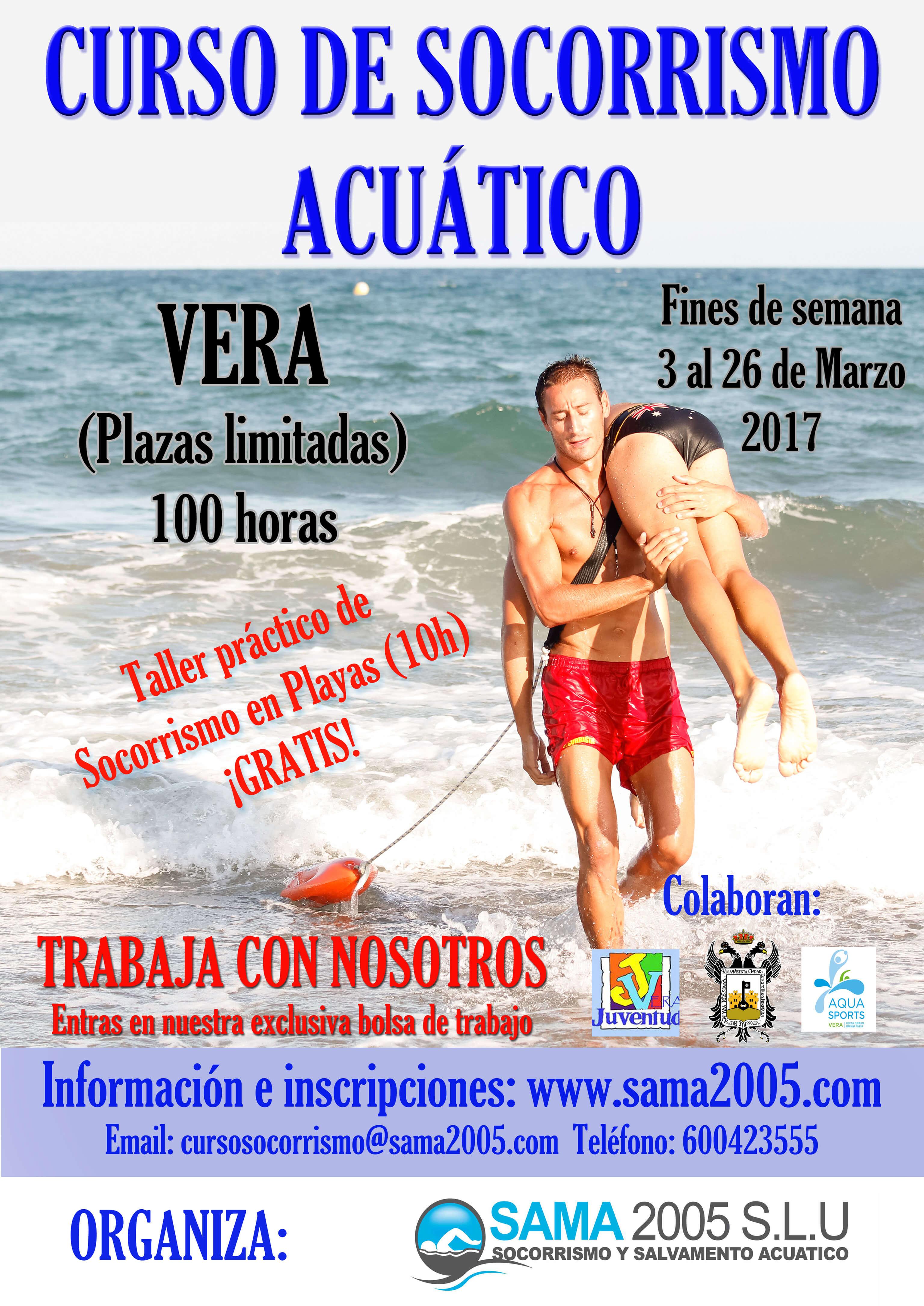 curso socorrista en playas y piscinas vera 2016